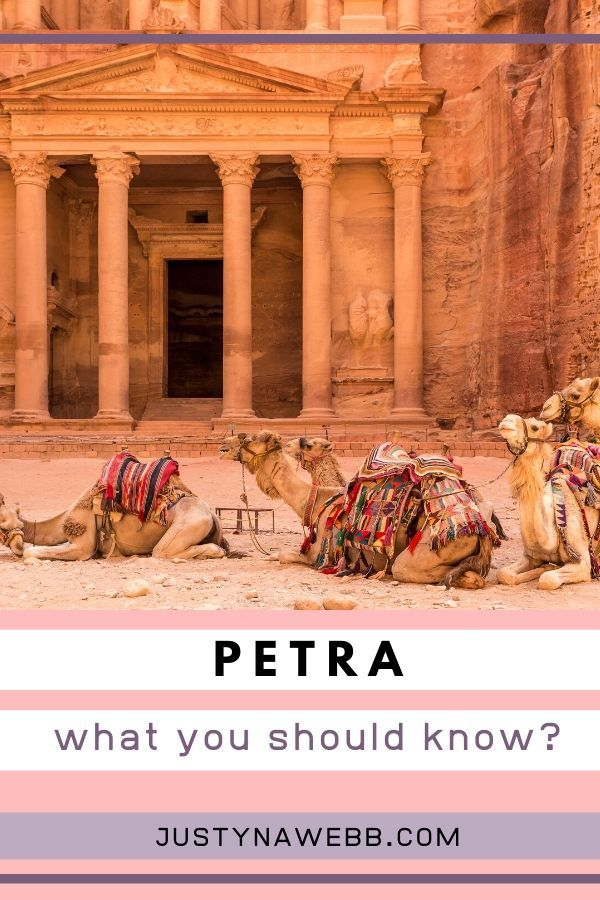 Petra - what you should know? #traveltojordan