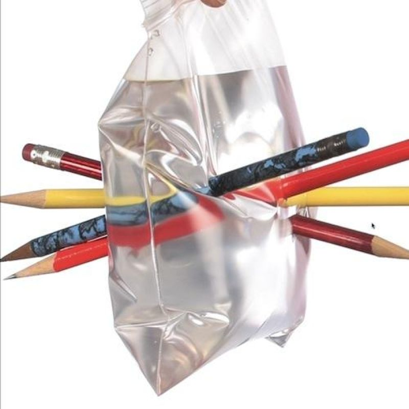 The Leak-Proof Bag - Science Trick. This experiment demonstrates ...