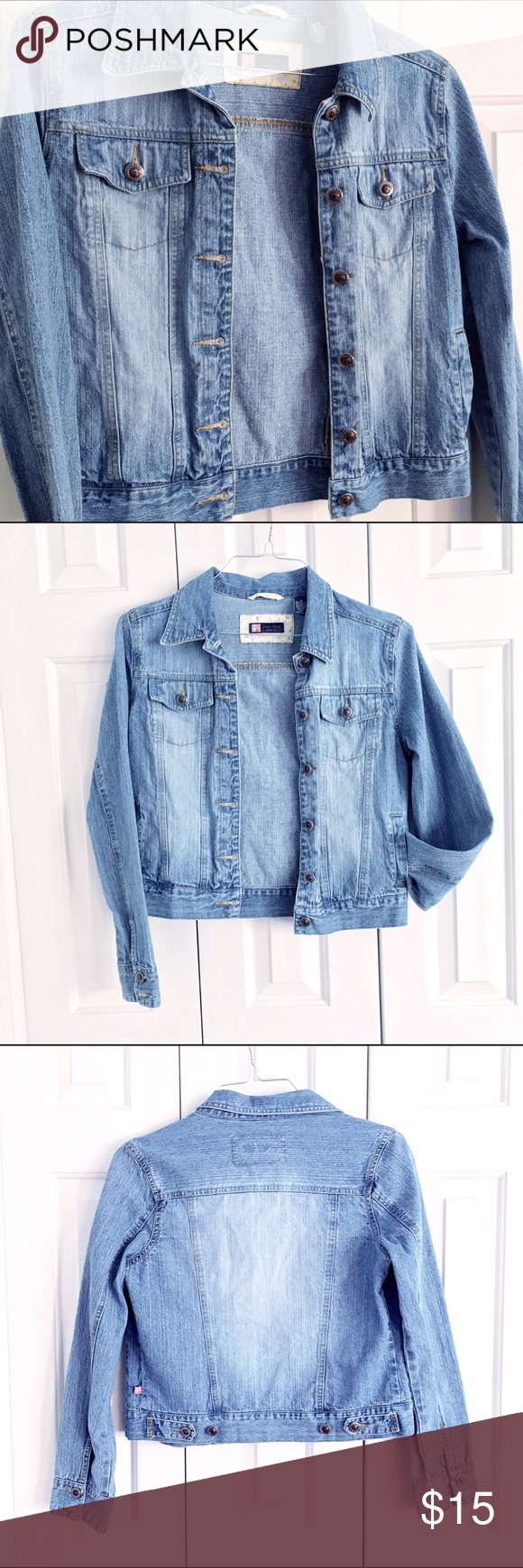Classic Jean Jacket Classic jean jacket in excellent condition. A wardrobe staple! Duck Head Jeans Co Jackets & Coats Jean Jackets