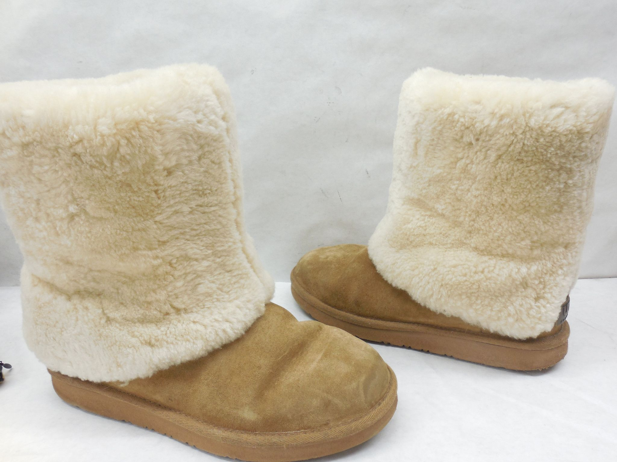c687244a41d Pre-owned UGG Australia 1006011 Chestnut Patten Sude Boots Size 8 ...