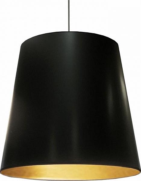 detailed look 24100 2bf65 Dainolite 1-Light Oversized Pendant - Black, Lighting ...