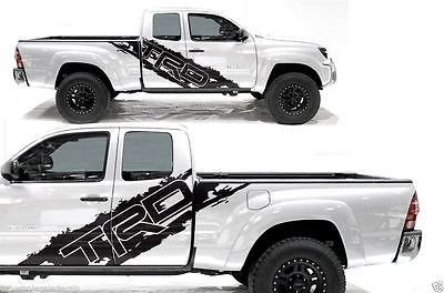 Vinyl Decal Side Door T RACE Wrap Kit For Toyota Tacoma TRD - Vinyl decals for race carspopular trd vinyl decalbuy cheap trd vinyl decal lots from china