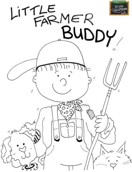 Free coloring page! FarmTime in the Classroom lesson plans
