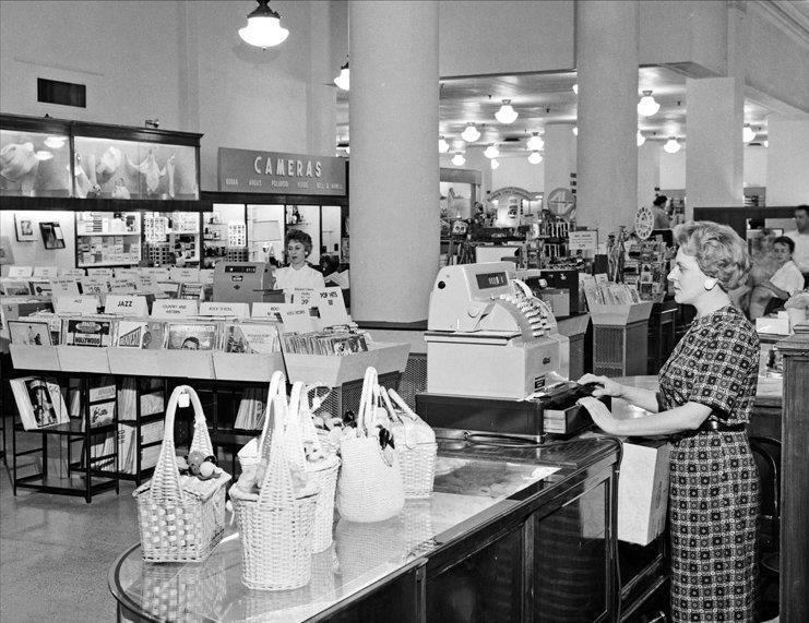 Boston store 1960s erie vintage mall erie pennsylvania