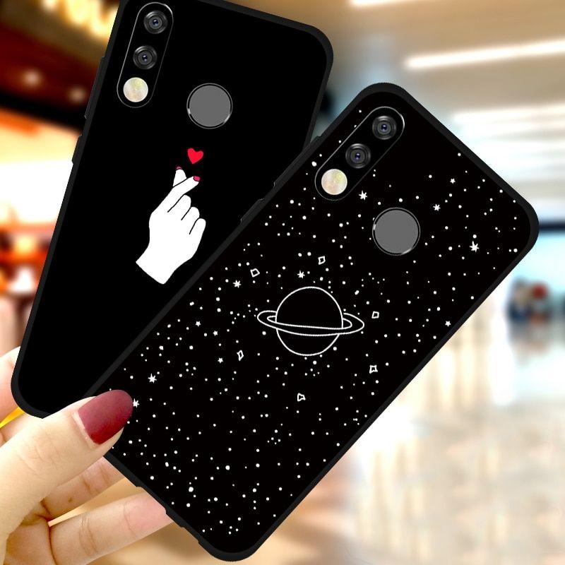 Mini Heart Case For Huawei P Smart 2019 P30 Lite Mate 20 Pro Y5 Y6 Y7 Prime 2018 Y9 Y6 Y7 Pro 2019 P Smar Phone Case Diy Paint Diy Phone Case Huawei Wallpapers