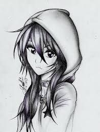 Resultado De Imagen Para Dibujos De Anime Emo Art Art Sketches Cute Drawings