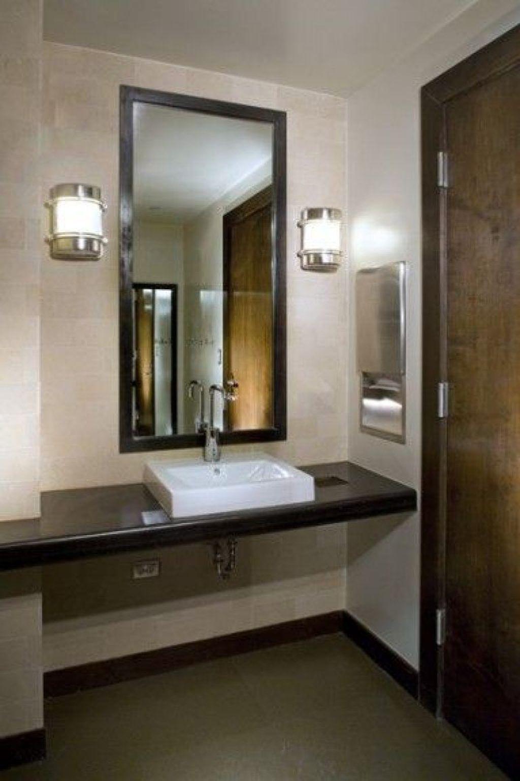 35 Impressive Office Bathroom Decor Ideas Commercial Bathroom