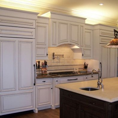 arched hood | Kitchen cabinet crown molding, Crown ...