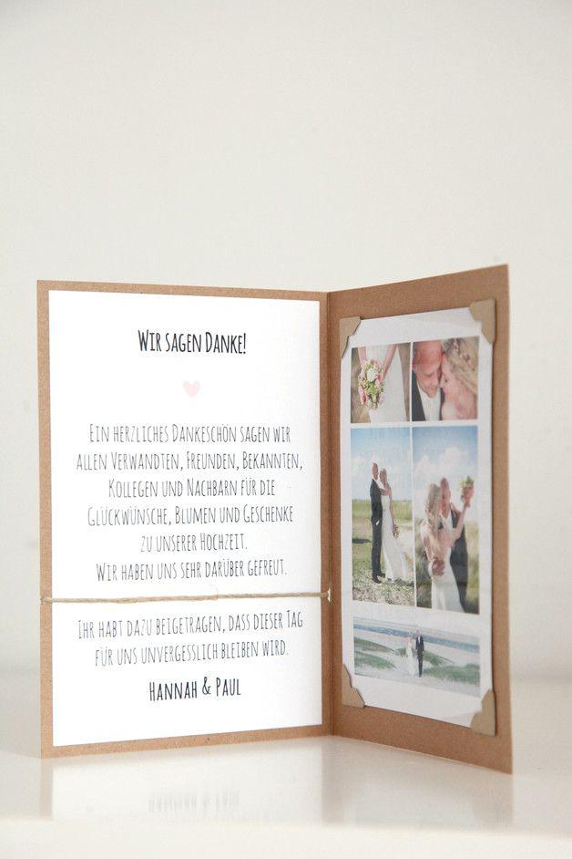 10er Set Danksagungskarten Fur Eure Hochzeit Passend Zu Der Serie