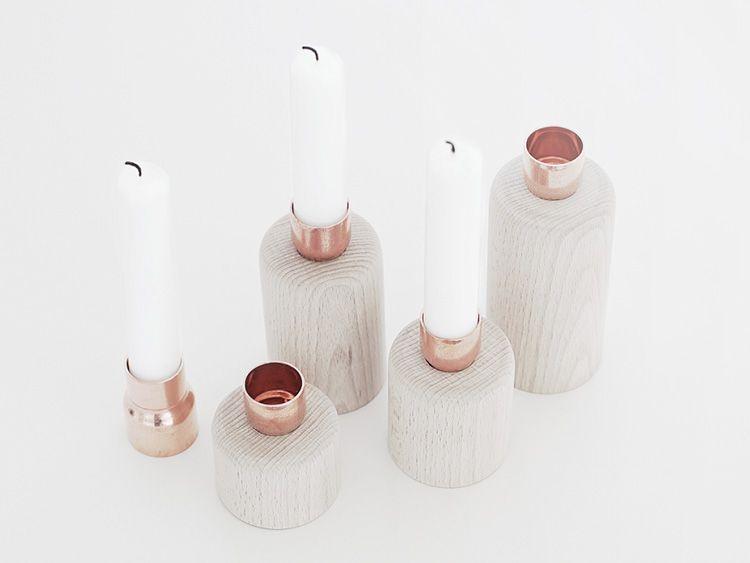 DIY-Anleitung: Kerzenständer aus Nudelholz selber machen via DaWanda.com