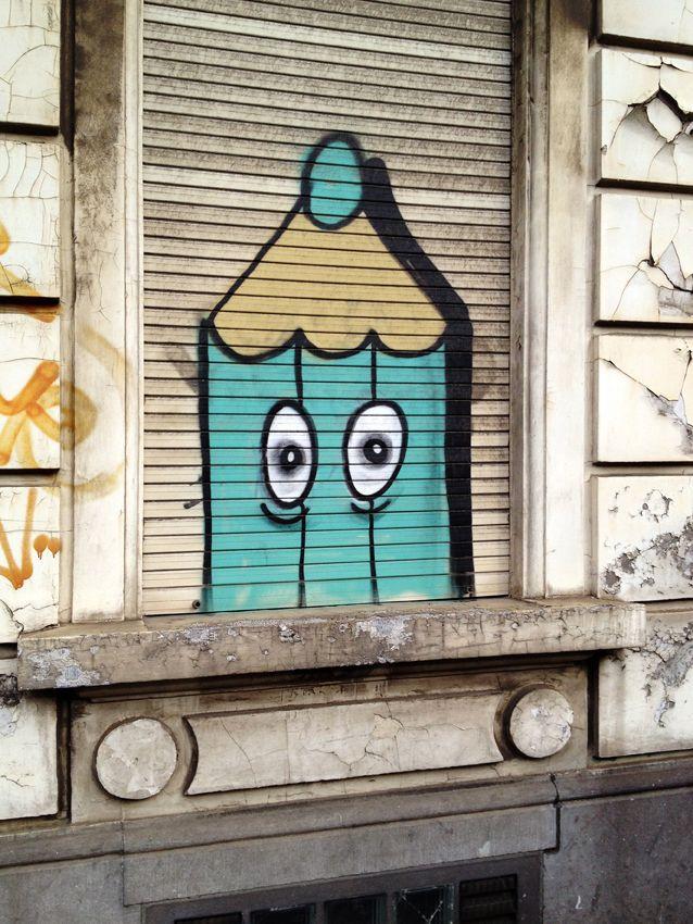 """© PdeB Depuis deux ans, j'ai dans l'idée de chasser le tag/graffiti """"crayon"""" dans la ville de ..."""