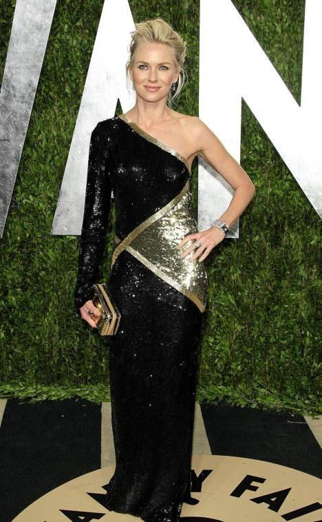 Naomi Watts, Oscars 2013/Vanity Fair