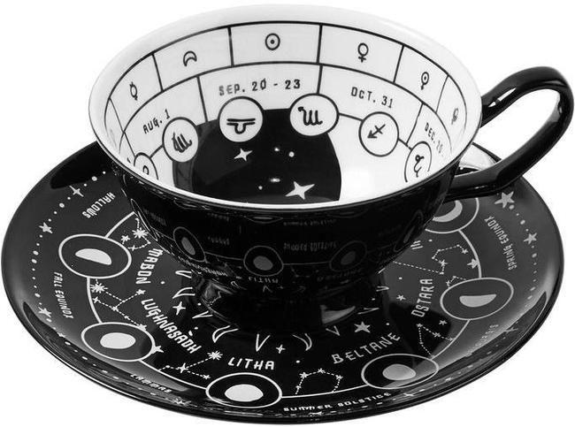 Cosmic | TEA CUP & SAUCER #teasets