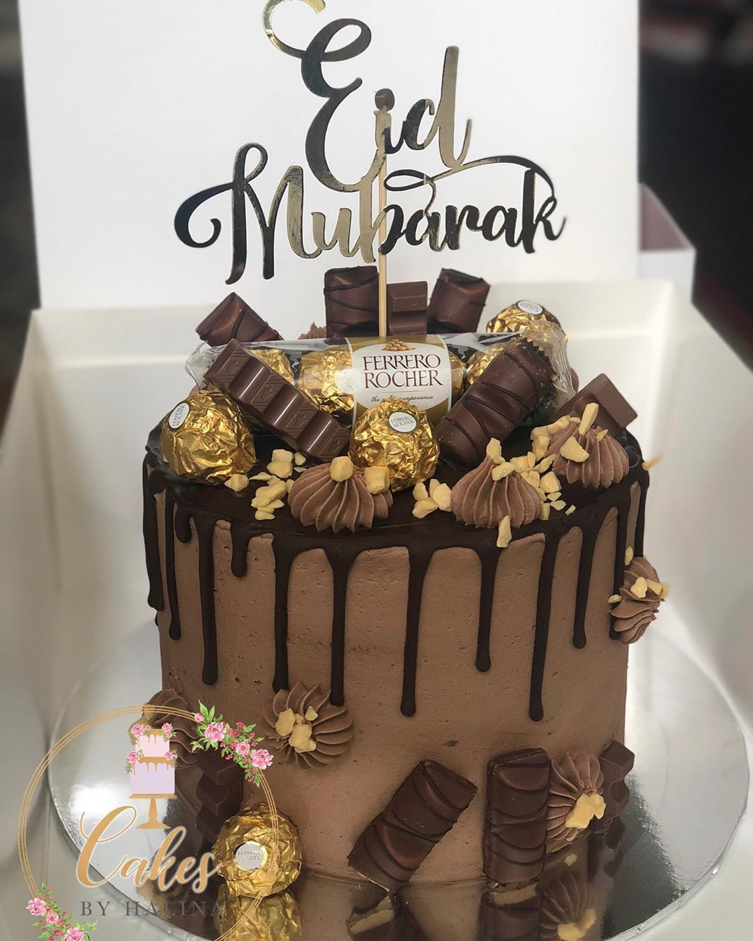 Cakesbyhalina on instagram eid mubarak in 2020