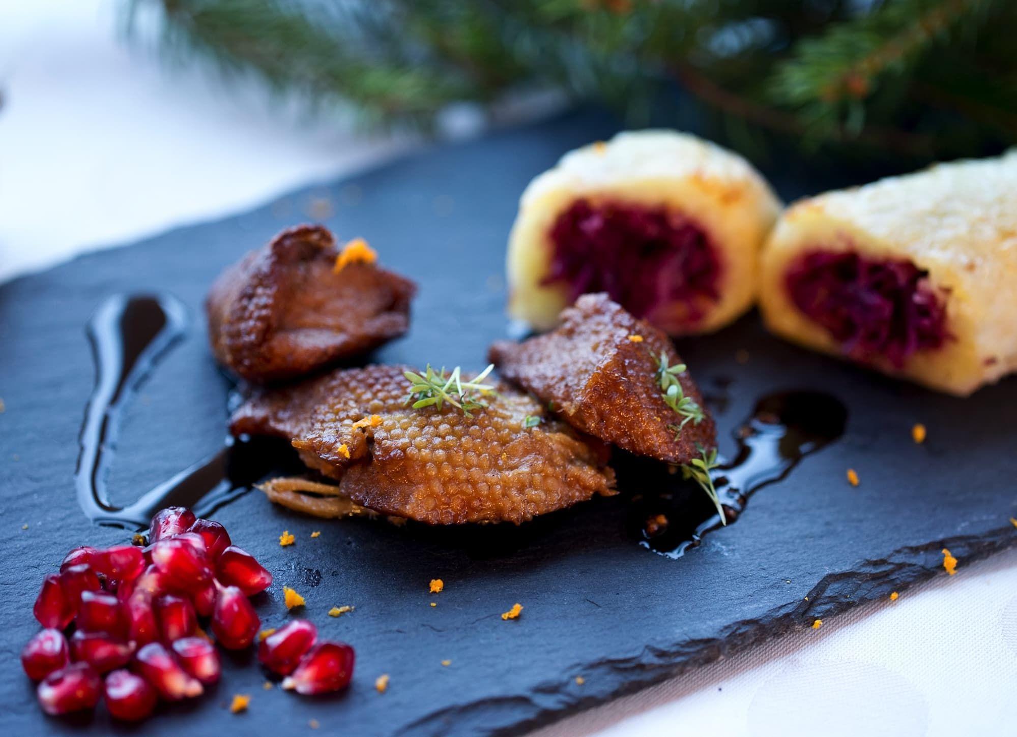 Veggie Ente Mit Winterrollen Rezepte Lebensmittel Essen Vegetarisches Essen