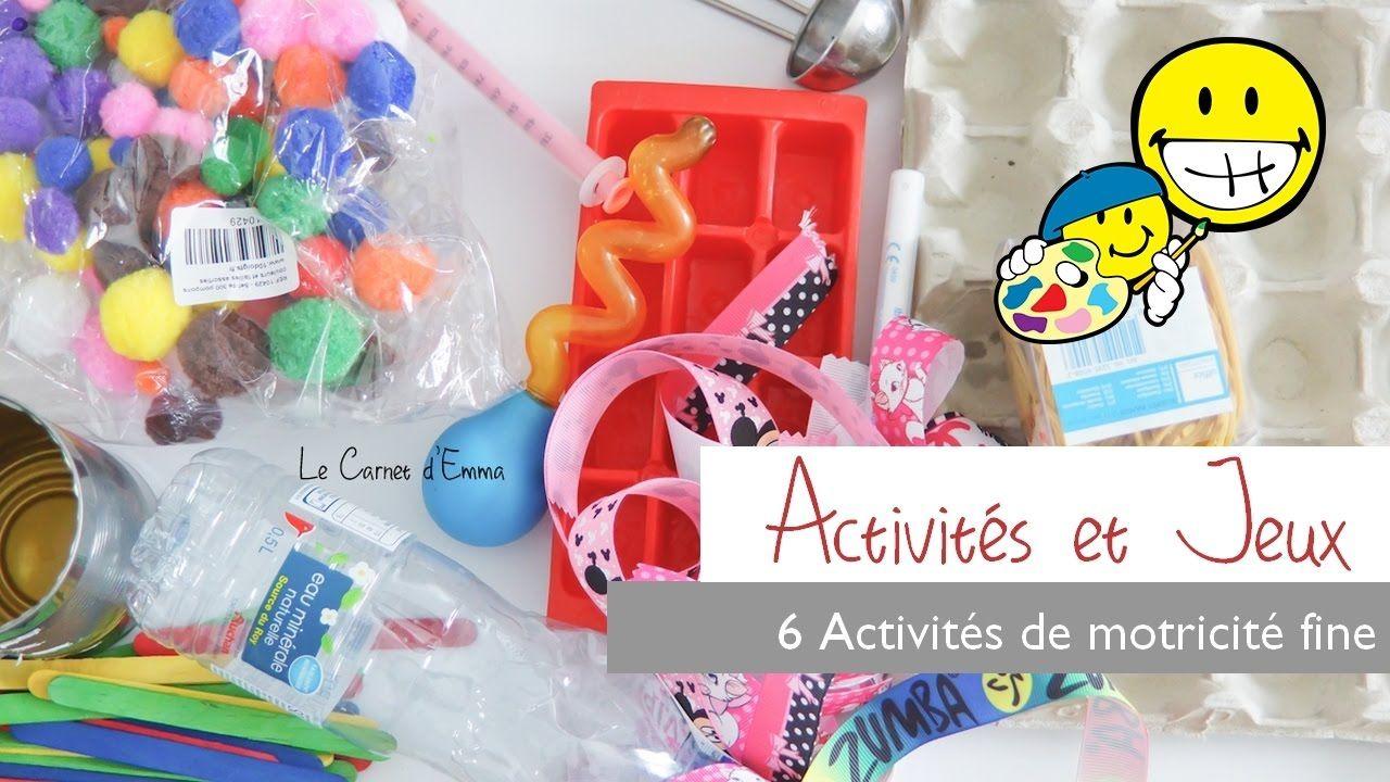{ Activités } 6 activités de Motricité Fine Brain gym