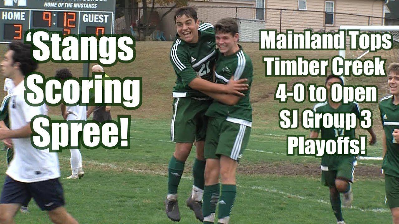 Mainland 4 Timber Creek 0 Boys Group 3 South First Round Playoffs Pellegrino Goal High School Sports School Sports New Jersey