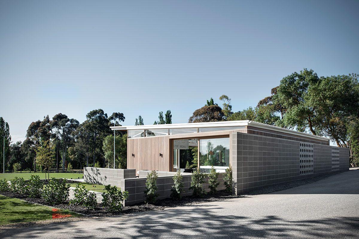 Kinley Cricket Club Architecture Contemporary Building Cricket Club