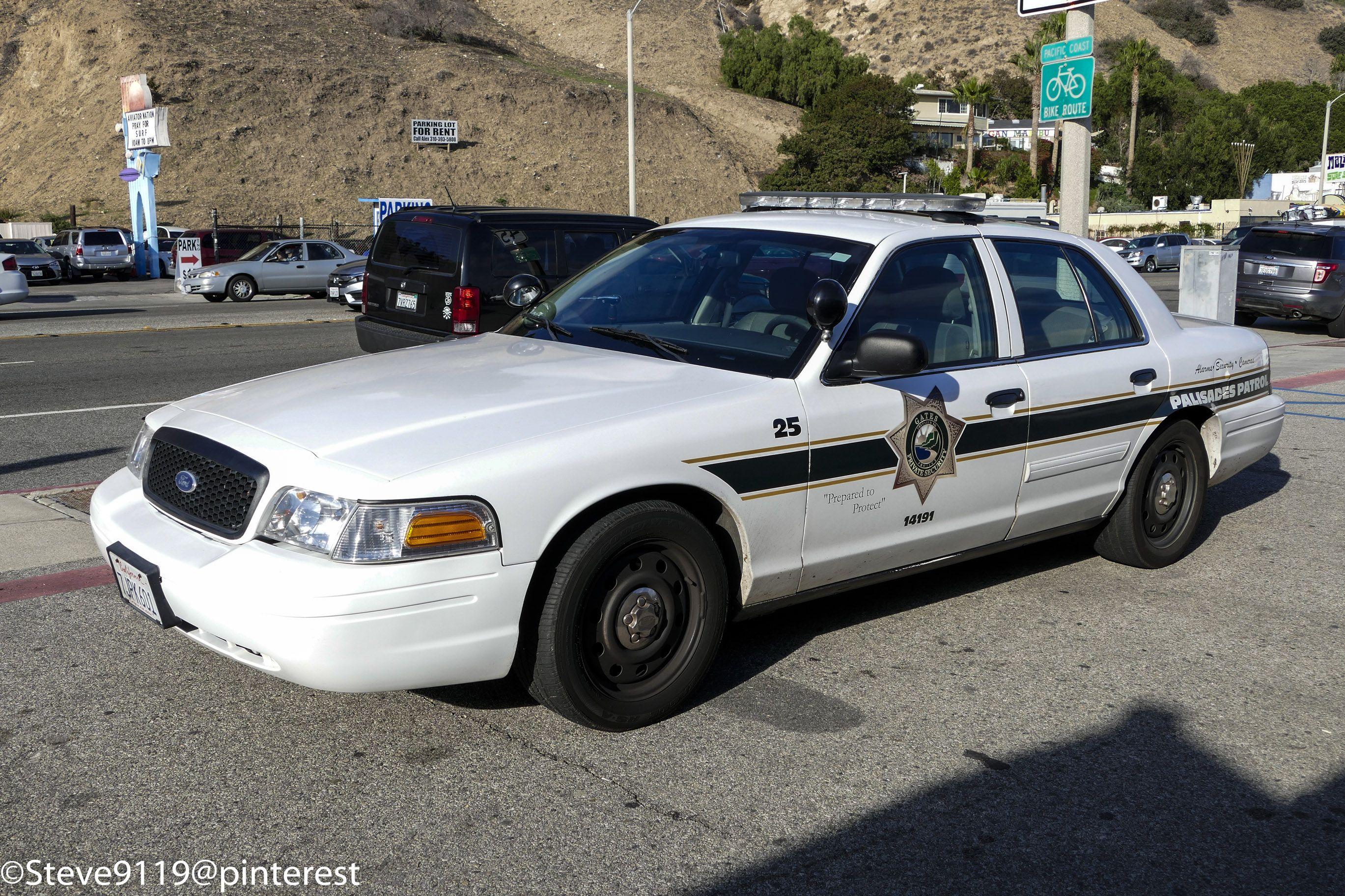 Gates Private Security Palisades Patrol California Usa