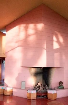 Dr. George Albin House by Frank Lloyd Wright. Bakersfield, California, 1958-1961