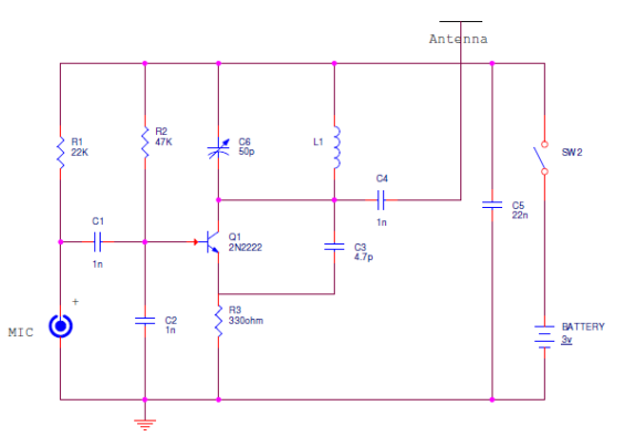 Fm bugger circuit and block diagrams and working circuit diagram fm bugger circuit and block diagrams and working ccuart Images