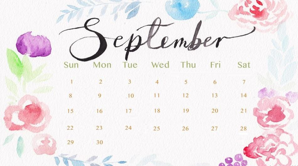 September 2019 Calendar in PDF, Word, Excel Printable