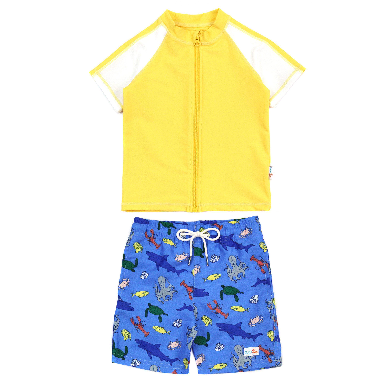 Sunsuit Long Sleeve Romper Swimsuit With Uv 50 Uv Sun