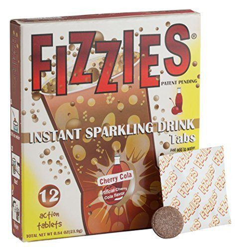 Miles Kimball Cherry Cola Fizzies Drink Tablets - http://mygourmetgifts.com/miles-kimball-cherry-cola-fizzies-drink-tablets/