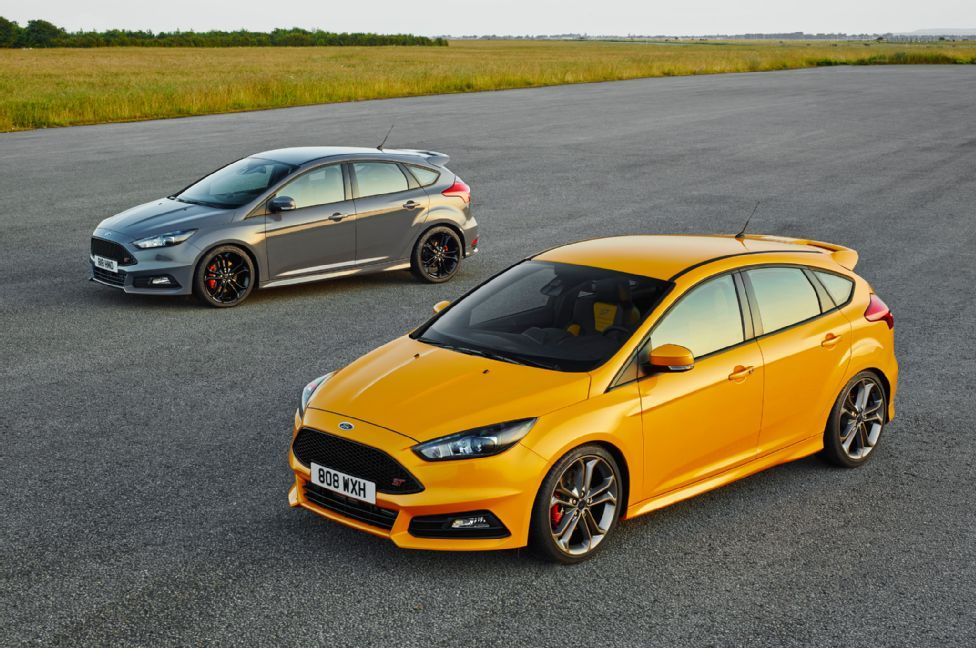 Refreshed 2015 Ford Focus St Revealed At Goodwood Ford Focus St
