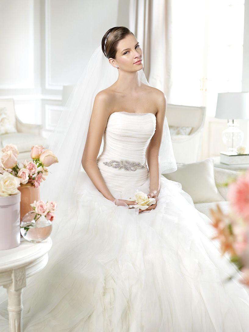 White One Noray Xsasa Bruidsmode Wedding Dress Wedding Dresses