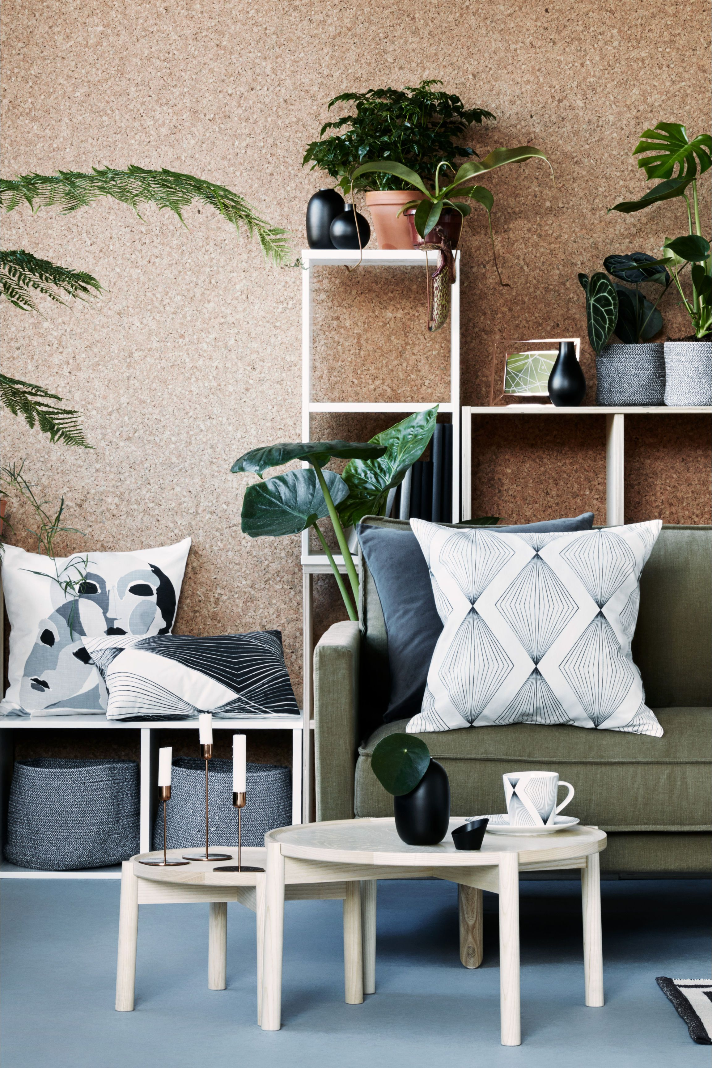 Capa de almofada em algodão | H&m home, Interior, Home ...