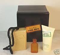 Nicole Miller 3 Pc Gift Set for Men Edt+ After Shave Balm +Soap on Rope by Nicole Miller. $10.99. Nicole Miller 3 Pc Gift Set for Men. Edt 7ml +after Shave Balm  50ML +Soap on Rope 150 GMS. Nicole Miller 3 Pc Gift Set for Men