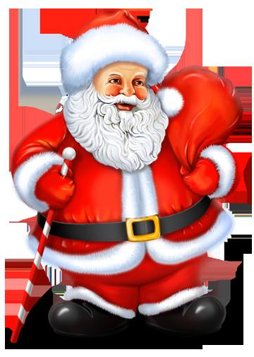 Santa Claus clip art Clip Art Holiday Scrapbook, Cards