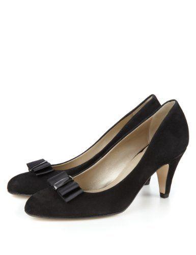 bd36bef9608 M   S - Van Dal Suede Mid Heel Court Shoes £89