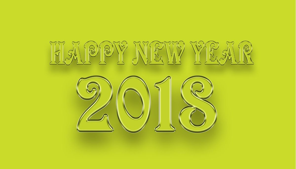 happy new year 2018 wallpaper free downloadwallpaper