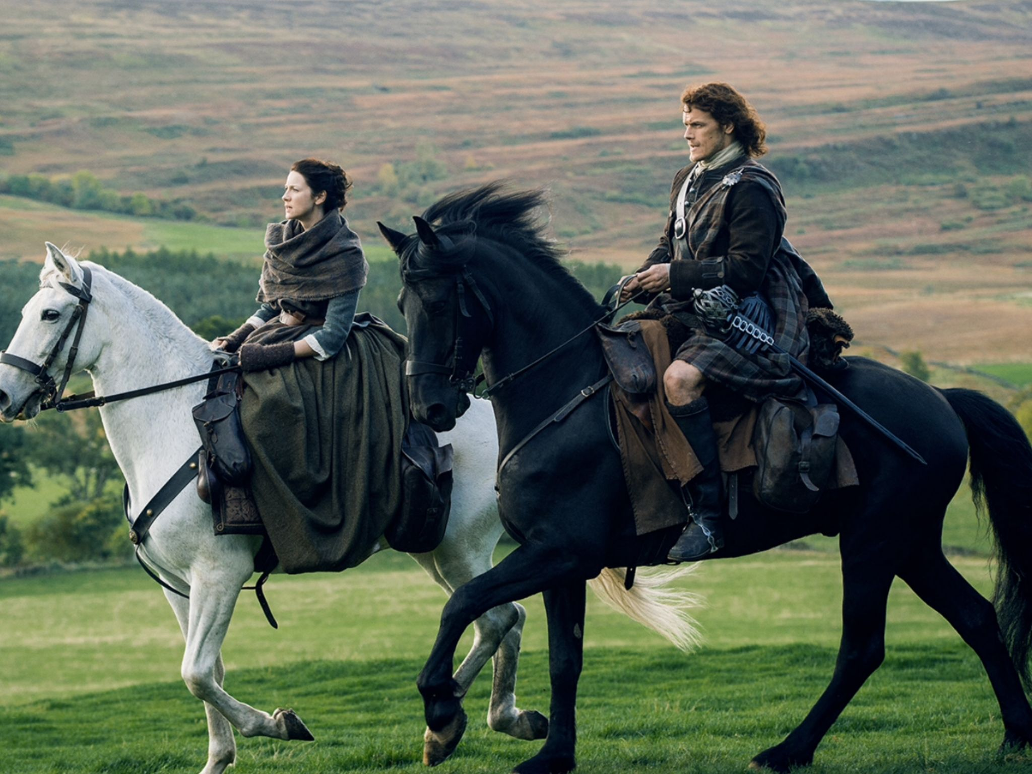 Majestic on their horses