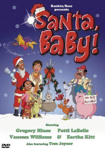 Black Christmas Movies Santa Baby Gregory Hines Soulful Christmas Christmas Movies Christmas Cartoons