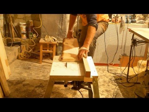 Циркулярка своими руками быстро, Building a Table saw - YouTube