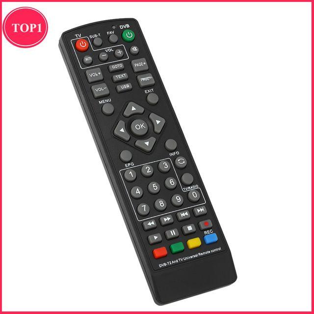 Wireless Set-Top Box Remote Control Universal DVB-T2 Smart