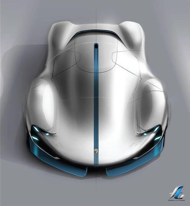auto design porsche electric le mans - La Table D Elise Le Mans