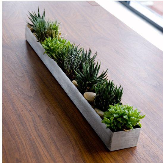 Gus* Modern Rectangular Planter Box | Home | Pinterest | Rectangular ...