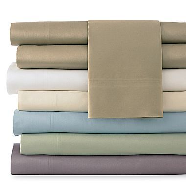 Cindy Crawford Style 400tc Cotton Sheet Set Jcpenney Cotton