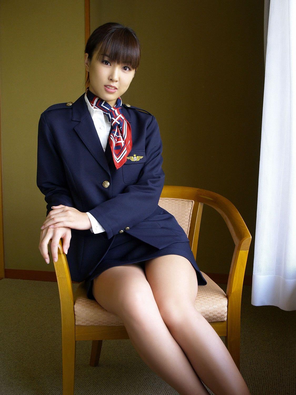Японские стюардессы фото, анал узкими задница