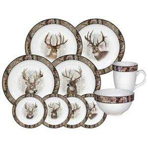 Camo/deer dinnerware  sc 1 st  Pinterest & Camo/deer dinnerware | All Things Camouflage | Pinterest ...