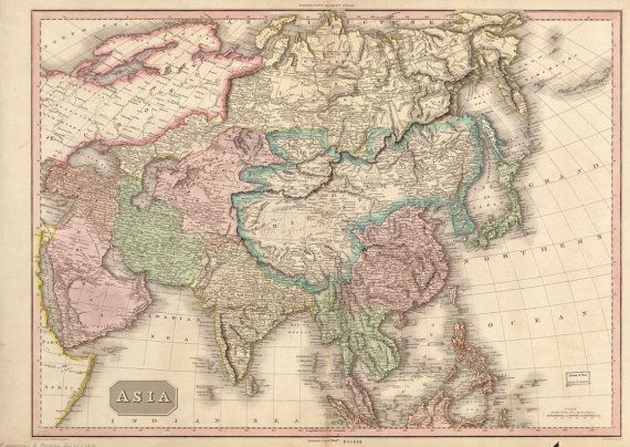 1818 map of asia china india thailand arabia by interestingphotos 1818 map of asia china india thailand arabia by interestingphotos 482 gumiabroncs Gallery