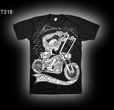 Addiction Brand Tattoo Style T Shirts Tattoo Style