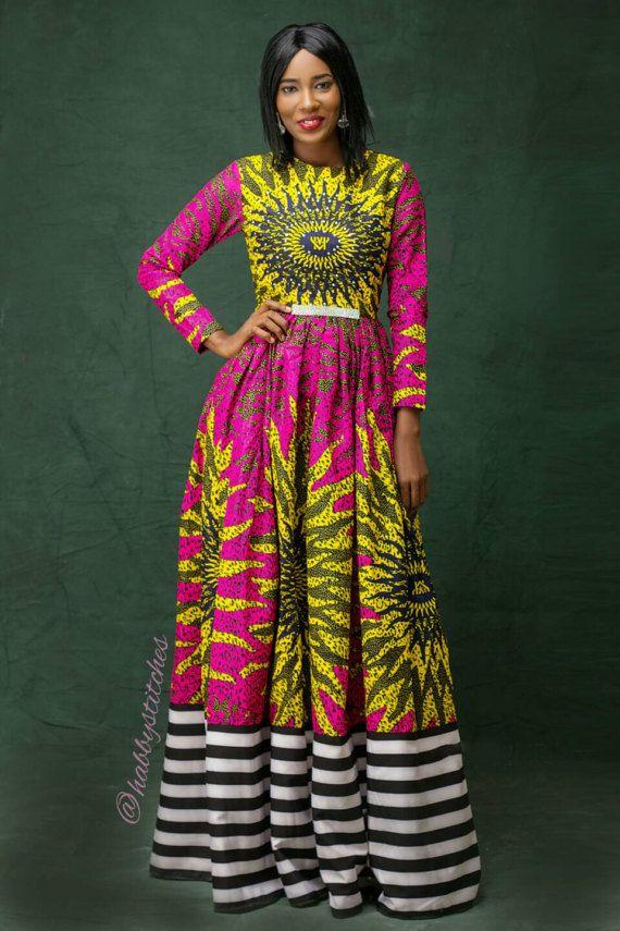a9118c53da1 Onye Maxi dress    African dress   African dresses for prom  African ...