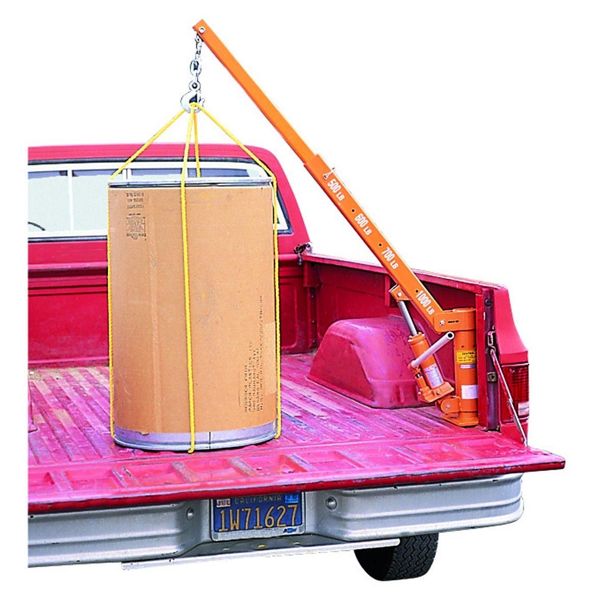 Pickup Truck Bed Crane 1000 Lb Capacity Pickup Trucks Bed Pickup Truck Accessories Pickup Trucks