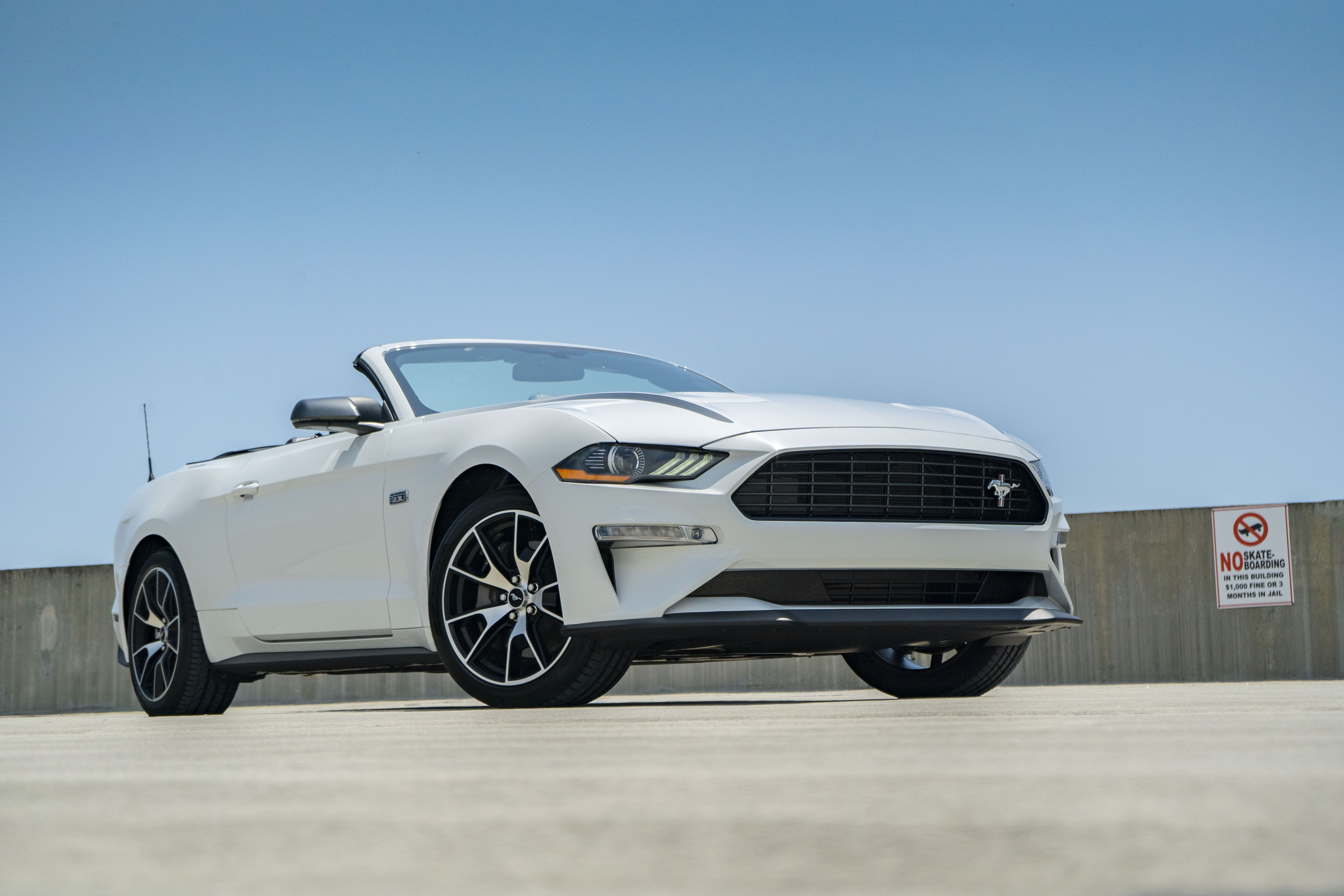 2020 Ford Mustang Four Cylinder Driven Top Speed Ford Mustang Camaro Convertible Mustang