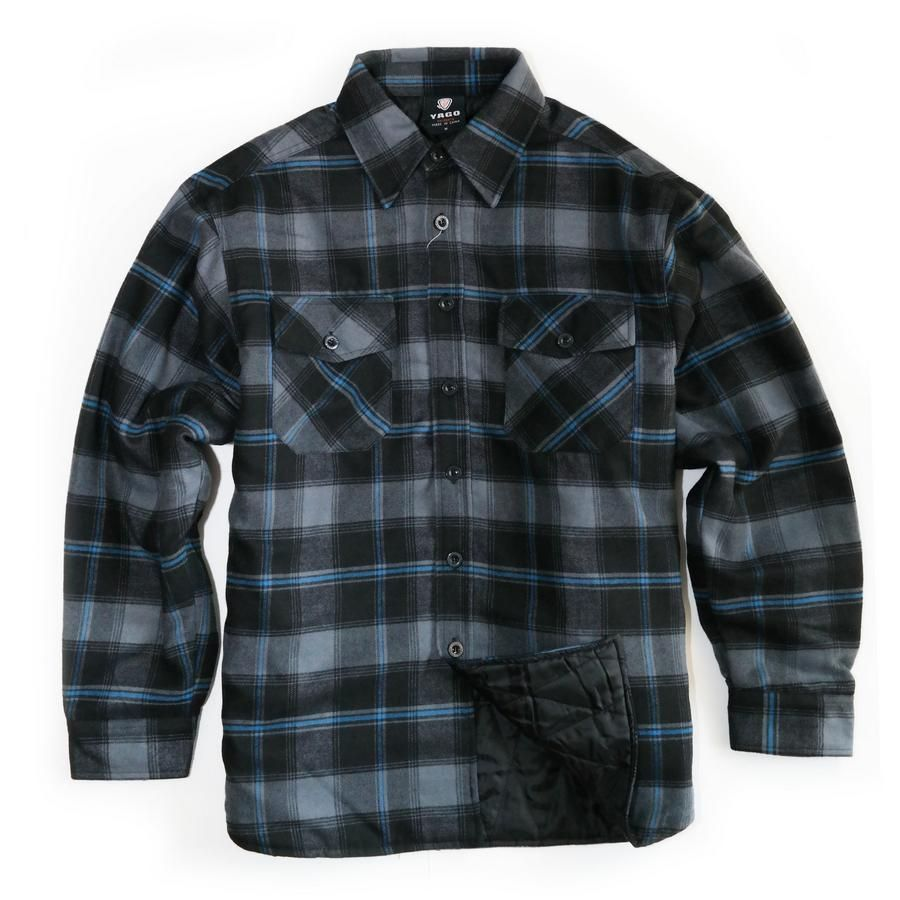 Quilted flannel shirt jacket  Warden Quilted Flannel  Products  Pinterest  Flannels and Products